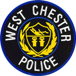 image of a patch the police officers wear on their uniform
